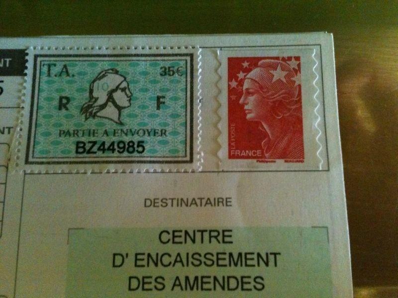 le timbre amende une arnaque en bande organis e. Black Bedroom Furniture Sets. Home Design Ideas